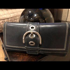Coaxh Black Wallet